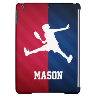 Tennis; Red, White, and Blue iPad Air Cases