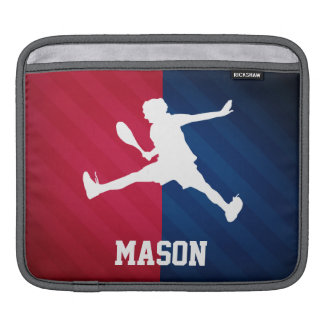 Tennis; Red, White, and Blue Sleeve For iPads