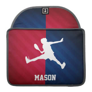 Tennis; Red, White, and Blue Sleeves For MacBooks