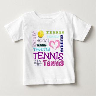Tennis Repeating Baby T-Shirt