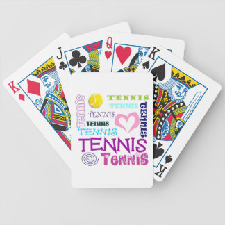 Tennis Repeating Bicycle Playing Cards