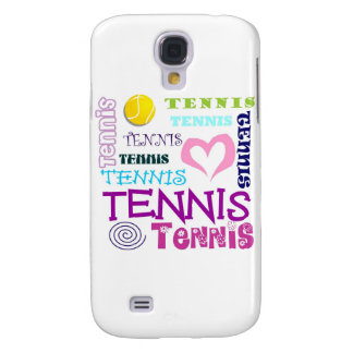 Tennis Repeating Galaxy S4 Case
