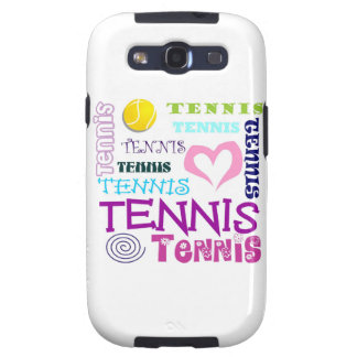 Tennis Repeating Samsung Galaxy S3 Case