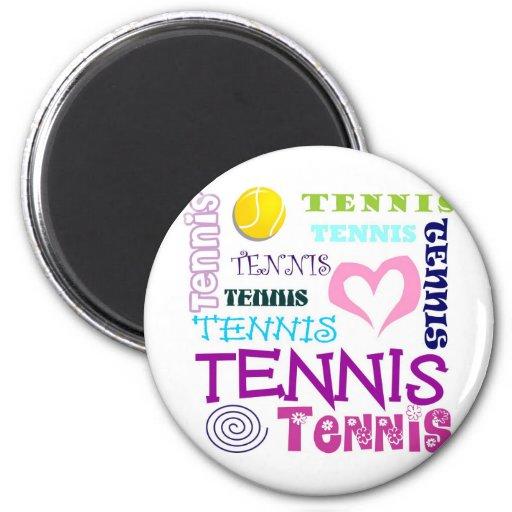 Tennis Repeating Magnet