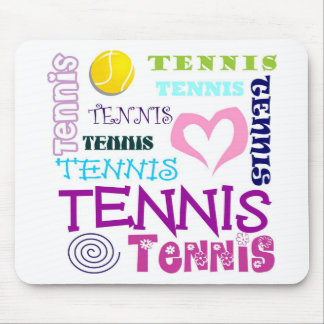 Tennis Repeating Mouse Pad