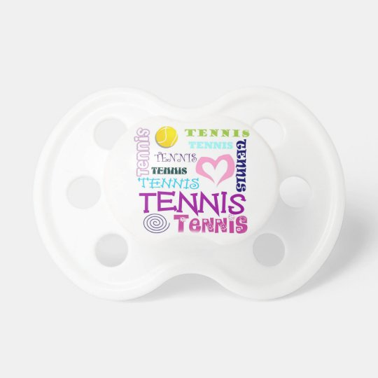 Tennis Repeating Pacifier