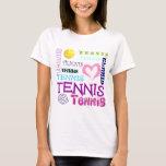 Tennis Repeating T-Shirt