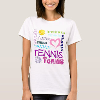 Tennis Repeating T-Shirt