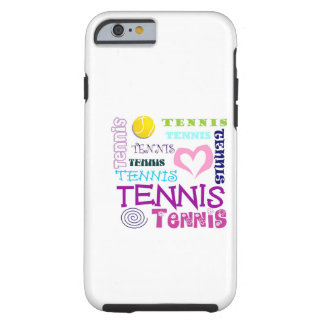 Tennis Repeating Tough iPhone 6 Case