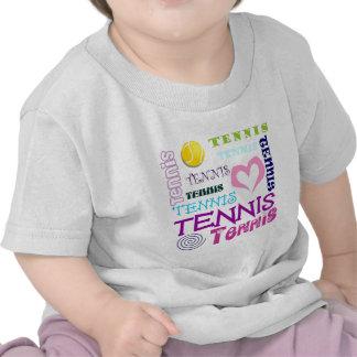 Tennis Repeating Tees