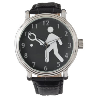 Tennis Road Sign Wristwatches