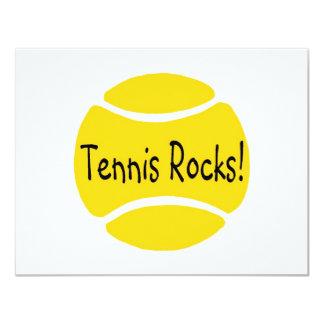 Tennis Rocks Card