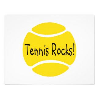 Tennis Rocks Custom Invitation