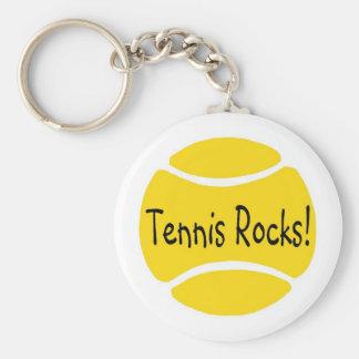 Tennis Rocks Keychain