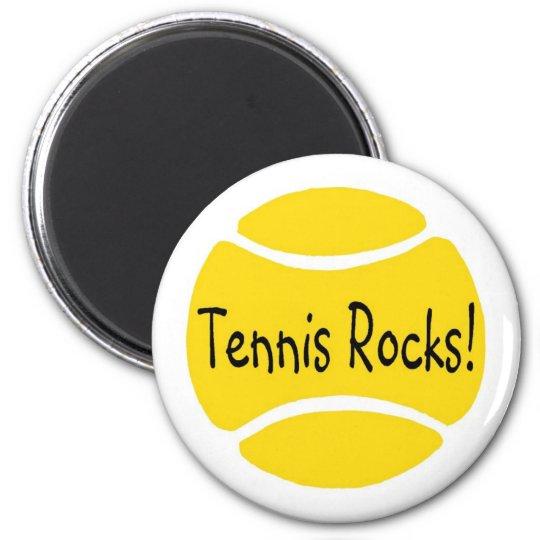 Tennis Rocks Magnet