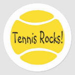 Tennis Rocks Sticker
