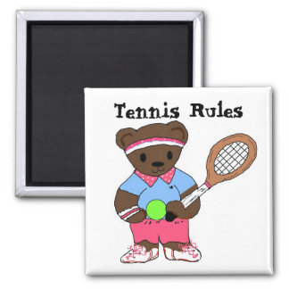 Tennis Rules Magnet