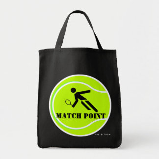 Tennis Score Points Tote Bag Match Point