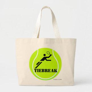Tennis Score Points Tote Bag Tiebreak