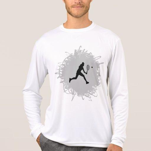 Tennis Scribble Style (Female) Tshirt