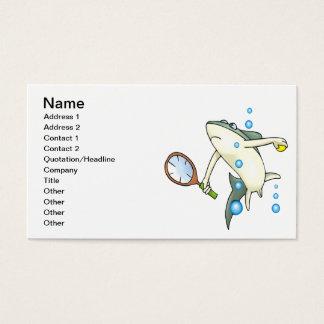 Tennis Shark Business Card