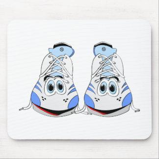 Tennis Shoes Cartoon Mouse Pad