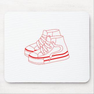 Tennis Shoes Mouse Pad
