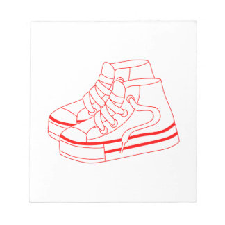 Tennis Shoes Notepad