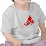 Tennis Shoes-Red Infant Tee