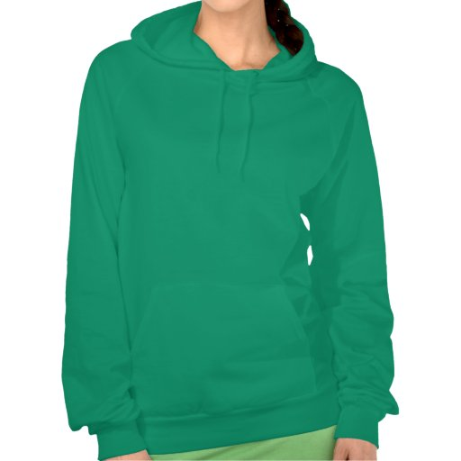 Tennis Silhouette in White on Hoodie