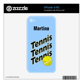 Tennis Skin for iPhone Skins For iPhone 4S