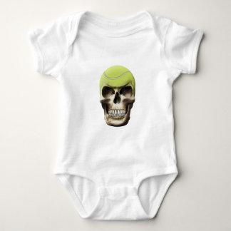 Tennis Skull Baby Bodysuit