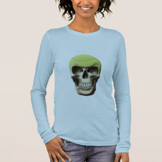 Tennis Skull Long Sleeve T-Shirt