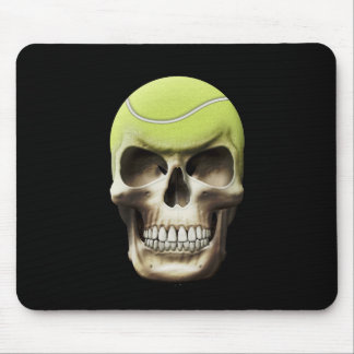 Tennis Skull Mouse Pad