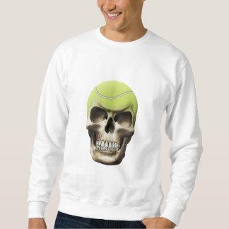 Tennis Skull Sweatshirt