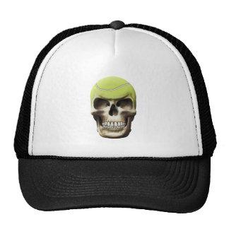 Tennis Skull Trucker Hat