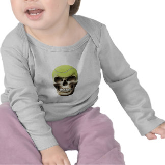 Tennis Skull Tshirt