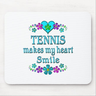 Tennis Smiles Mouse Pad