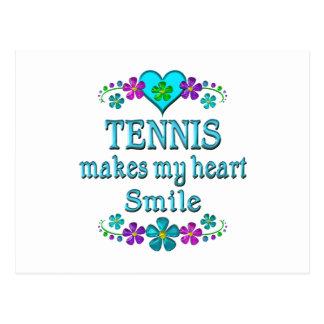 Tennis Smiles Postcard