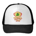 Tennis Spins Trucker Hat
