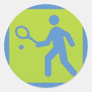 tennis sport sticker