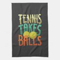 Tennis Sport Tennis Player Gift Kitchen Towel