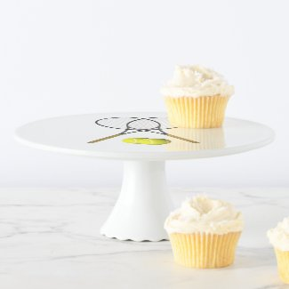 Tennis Sport Theme Party Cake Stand