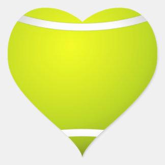 tennis sports ball green game team player court heart sticker