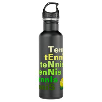 Tennis Stainless Steel Water Bottle