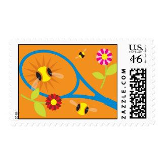 Tennis Stamp with Original Spring design