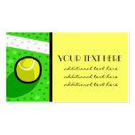 Tennis Star Business Card Templates