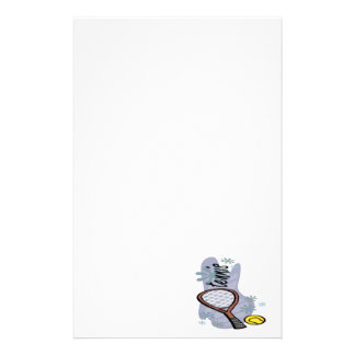 Tennis Personalized Stationery