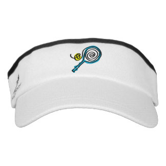 Tennis sun visor cap for player, coach and fans