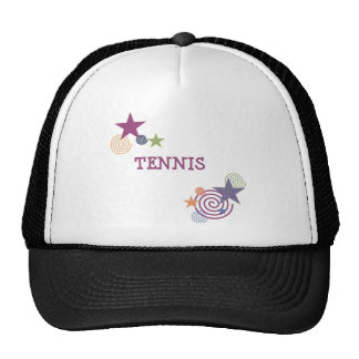 Tennis Swirl Trucker Hat